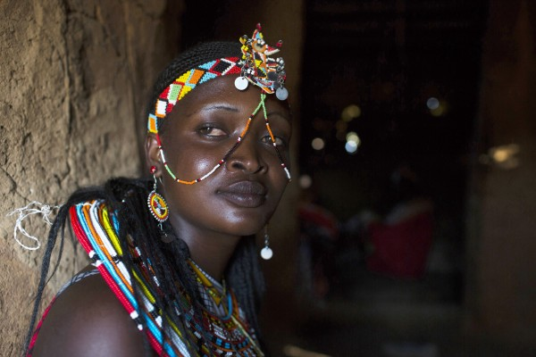 Umoja - women only village in Samburu, Kenya -